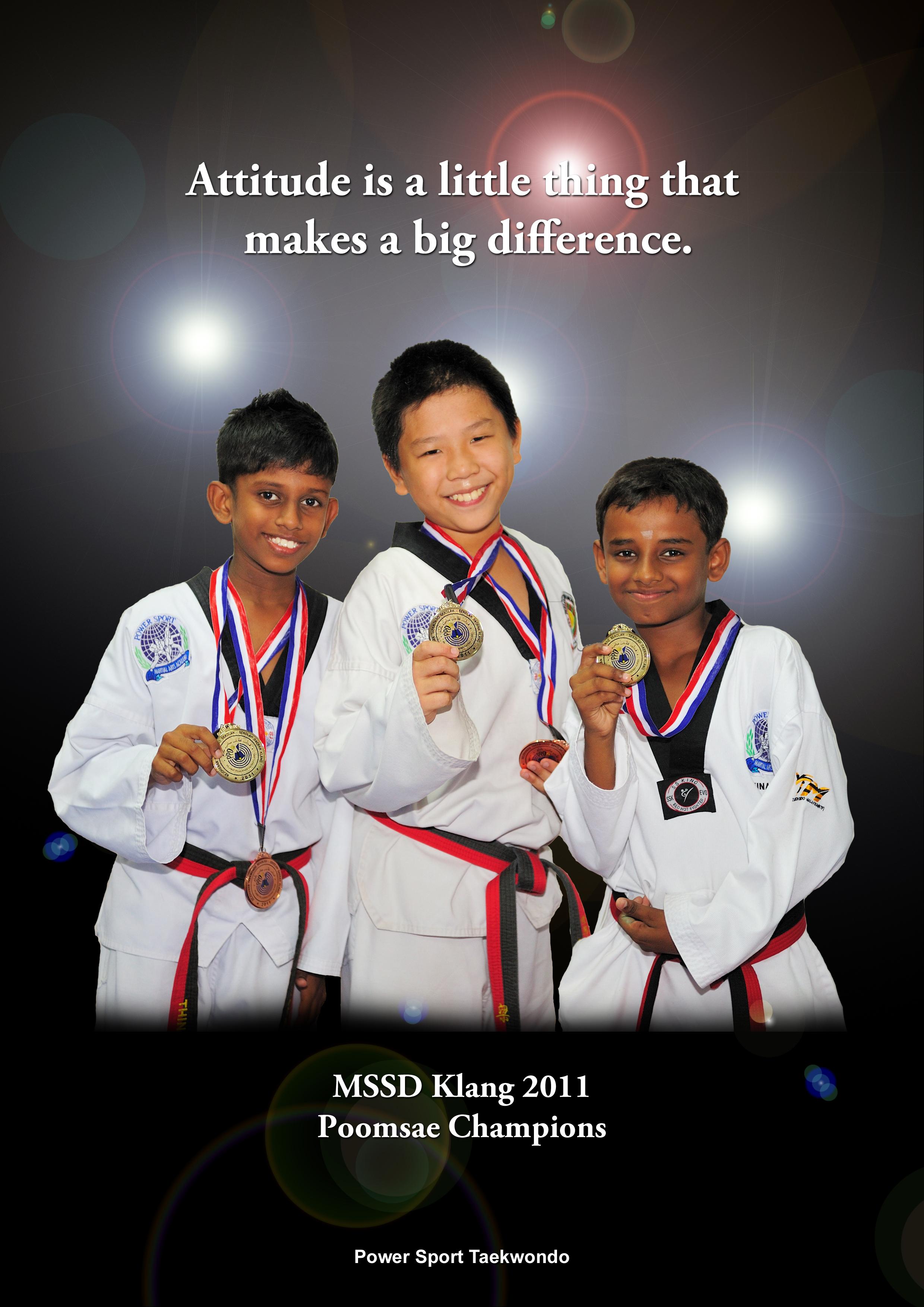 Taekwondo Quotes Another Inspirational Poster  Power Sport Taekwondo
