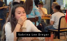 Farewell dinner for Sabrina Lee Dreyer, 12 Jul2020